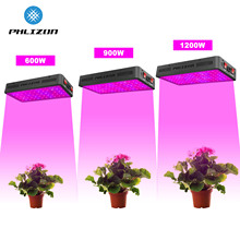 Phlizon Full Spectrum 600/900W/1200W LED Grow Light Lamp for Indoor Plants Vegetation Flower Greenhouse Tent