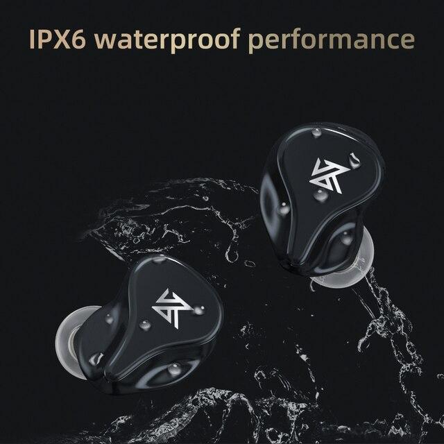 KZ Z1 Pro TWS Bluetooth 5.2 True Wireless Earphones Game Earbuds Touch Control Noise Cancelling Sport Headset KZ S2 S1 ZSX DQ6 6