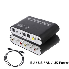 Sound-Decoder-Amplifier Stereo Audio-Converter Optical Digital Spdif Coaxial Analog To