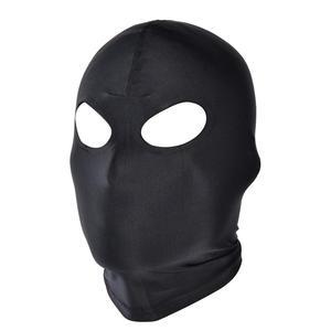 Image 5 - SexyToys otwarte usta oczu Bondage strona maska Cosplay niewolnik karać nakrycia głowy maska egzotyczne odzież Sex produkty BDSM fetysz maska kaptur