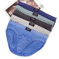 Männer Briefs 5 teile/los Baumwolle Unterhose Casual Dot Unterwäsche für Männliche plus größe männer briefs unterwäsche L-4XL cueca masculina