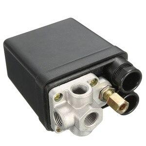 Image 5 - Compresseur dair, petit régulateur dair, 7.25 à 125 PSI, avec interrupteur de contrôle 15a 240V/AC réglable, quatre trous