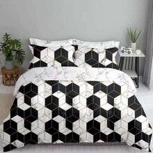 Duvet Cover & Pillow Shams Set Nordic Style 8 Size Single Double Full Queen King 200*200 240/200