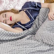 Удобный кашемировый хлопковый пододеяльник одеяло для спальни плотное одеяло для людей аутизм, тревожность бессонница или стресс для детей