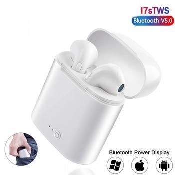 I7s Tws Bluetooth 5.0 wireless In-Ear mini with microphone charging box sports smartphone PK i9s i12