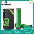Rockbros Zachte 3D Anti-Slip Lock Op Handvat Bar Fietsen Onderdelen Fiets Accessoires Tpr Rubber Fiets Grips Fietsstuur mtb Grips