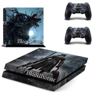 Image 5 - Pegatinas de PS4 de Bloodborne para PlayStation 4, pegatinas de vinilo de piel para PS4 y mando