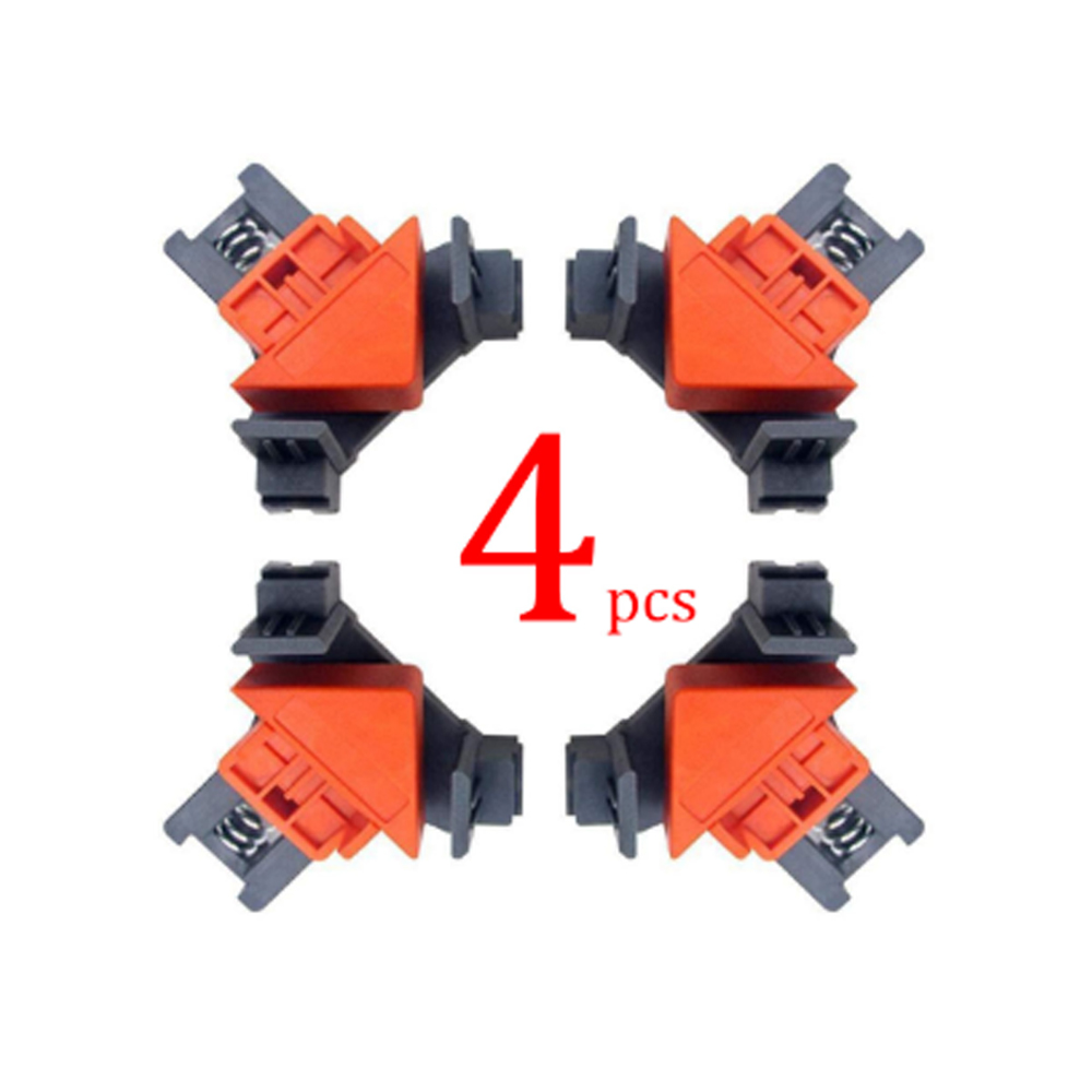 High Quality 1 PCS Rugged 90 Degree Right Angle Clamp DIY Corner Clamps Quick Fixed Fishtank Glass Wood Picture Right Angle