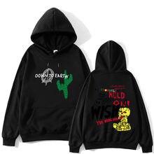 Мужской пуловер с длинным рукавом в стиле хип хоп