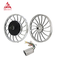 QSMOTOR 20X2.125inch 1000W 205 V2 Electric Bike Cast Wheel Hub Motor With KLS4812S For Electric Bicycles Solar Tricycle