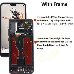 "Image 4 - Tft 6.1 ""Lcd Voor Huawei P20 Pro Lcd Met Frame Scherm Digitizer Vergadering Touch P20 Pro CLT AL01 l29 Lcd P20 Plus Display"