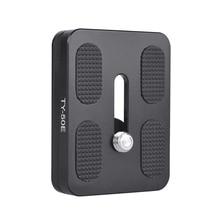 Roadfisher Sirui TY-50E Камера Quick Release Plate 50*39 мм Arca Swiss совместимый для зеркальной однообъективной камеры APS-C E-10& E-20 шаровой головкой