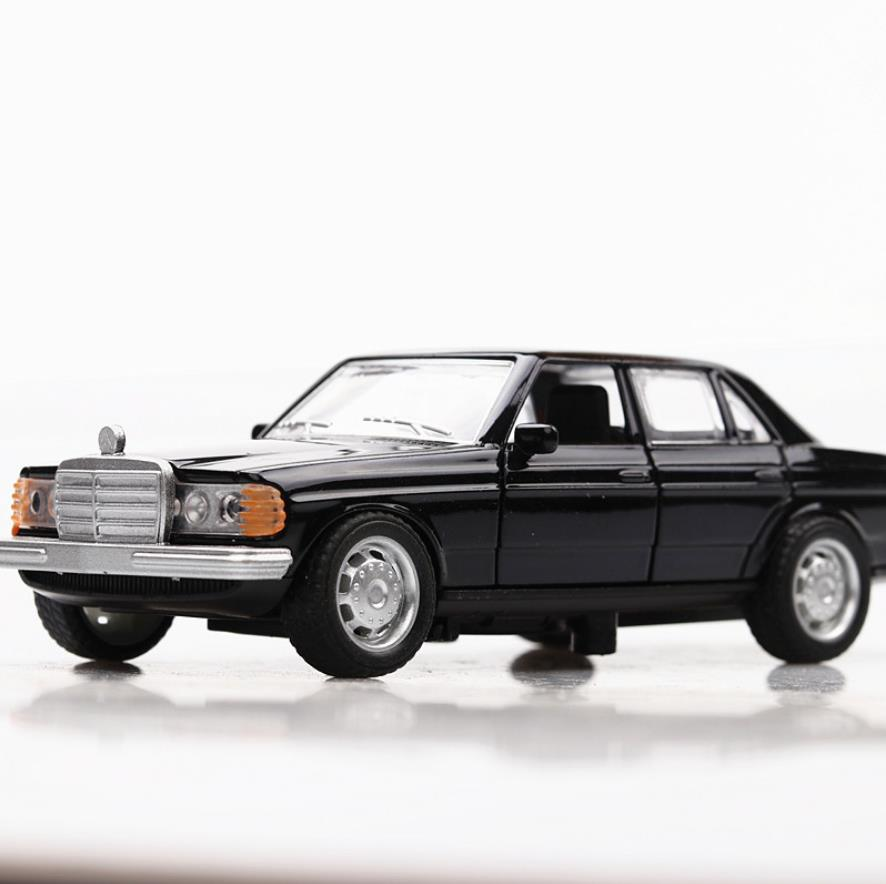 Hot 1:36 scale <font><b>wheel</b></font> 1993 benz <font><b>w124</b></font> diecast car metal model classic vehicle alloy toys collection for kids gifts image