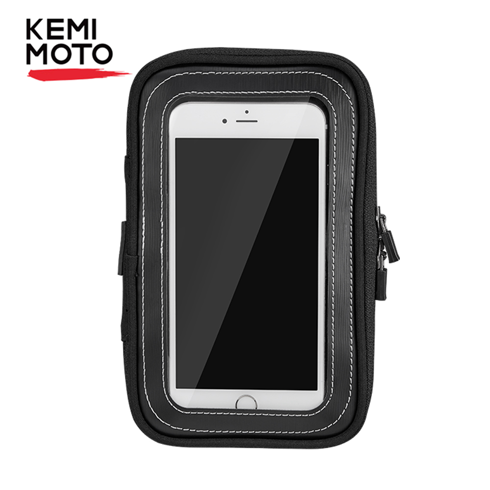 KEMiMOTO Motorcycle Magnetic Tank Bags 6.5