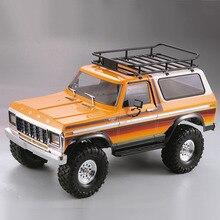 Peças de carro para crawler rc, corpo de plástico duro, concha de carro 313mm, base de rodas desmontada, kit para axial scx10 90046 traxxas trx4 ford bronco