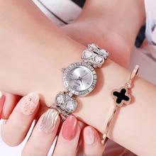Stardust Diamond Luxury Women Watches Quartz Bracelet Steel Elegant Ladies Wristwatch Rhinestone Female Watch Relogio Feminino