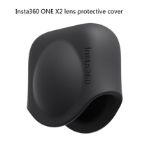 In Stock Insta360 ONE X2 Lens Cover Silicone Lens Protective Cap Durable Silicone Lens Protector Sports Camera Accessories