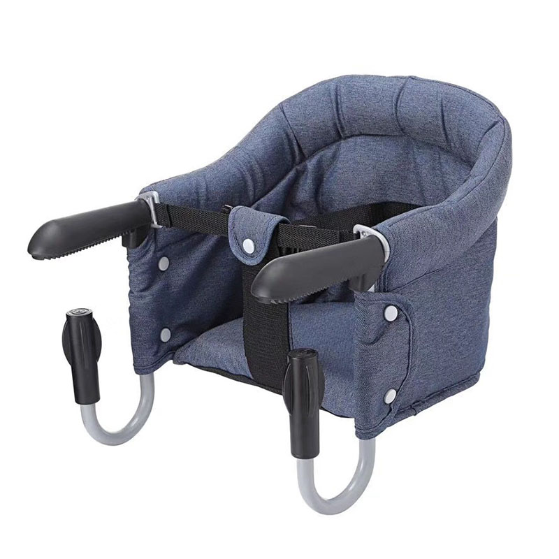 Baby Portable Foldable Feeding Chair Child Safety Belt Outdoor Travel Dining Hook-on High Chair Harness Lunch Seat