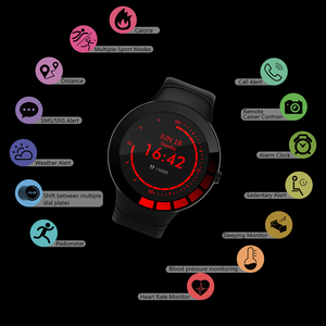 Image 5 - Jelly Comb Men Sport Smart Watch Waterproof IP68 Heart Rate Smart Watch for Huawei ios Full Touch Bluetooth Smartwatch Pedometer