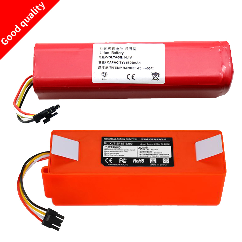 Li-ion 18650 Battery For XIAOMI ROBOROCK Vacuum Cleaner S50 S51 T4 T6 Mi Robot Vacuum Cleaner Accessories