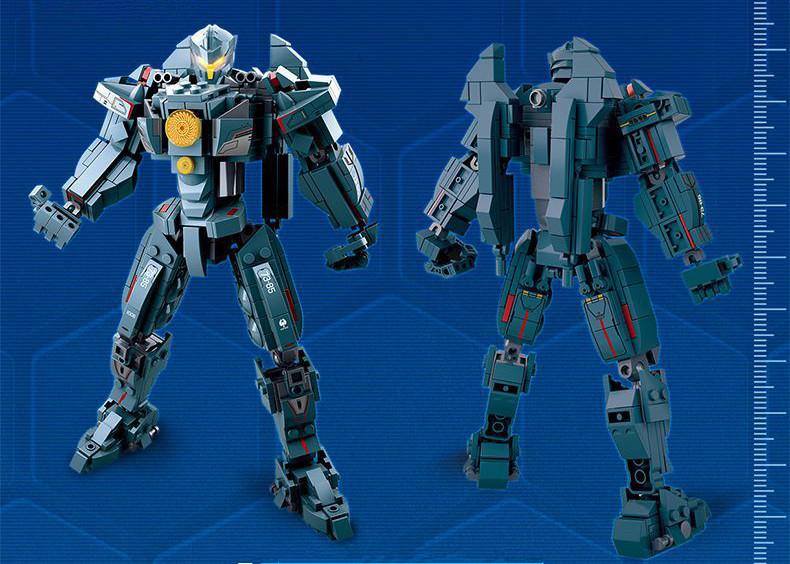 New Building Block Pacific Rim Uprising Robot Soldier Toy For Children Kids Sets