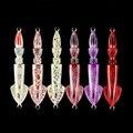 Lurekiller, новинка, приманка для джиггинга, свинцовая рыба, 3D печать, светящийся цвет, 150 г, приманка для медленного джиггинга, приманка для рыбно...