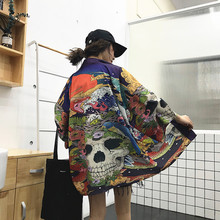 Kimono japoński yukata żeński japoński kimono kardigan gejsza haori odzież cosplay japoński kimono tradycyjny streetwear Z025 tanie tanio SILKQUEEN WOMEN Poliester Odzież azji i pacyfiku wyspy Trzy czwarte Tradycyjny odzieży ZZ025