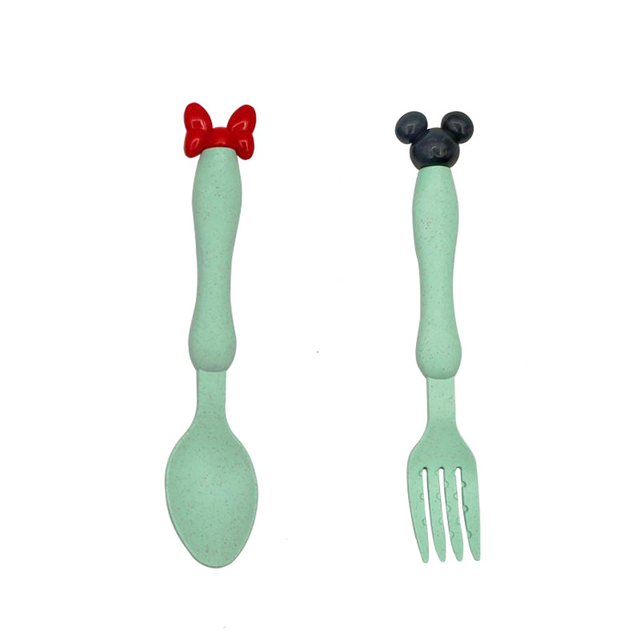 Green SpoonFork