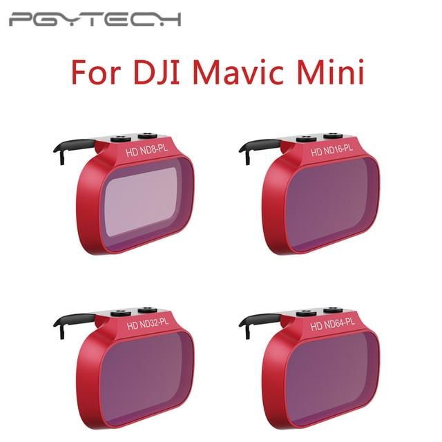 PGYTECH Lens Filters UV CPL ND 8 16 32 64 PL For DJI Mavic Mini Filter Filter Kit for DJI Mavic Mini ND8 ND16 ND32 ND64
