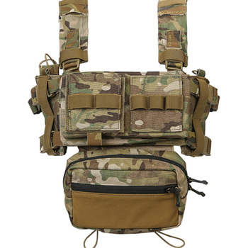 Emerson MK3 Micro Fight Chest Rig Chassis Adjustable Expandable Tactical Carrier