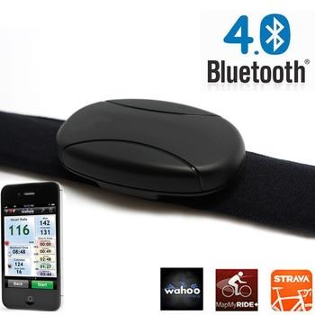 Outdoor Fitness Equipment Bluetooth 4.0 Smart Heart Rate Monitor Polar Runtastic Wahoo Endomondo Heart Rate Chest Strap Band фото