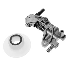 Oil pump and worm for Chinese gasoline chainsaw 5800 4500 5200 chainsaw accessories of chainsaw starter assembly for zenoah gasoline chainsaw g4500 5200 5800 aftermarket repair replacement using
