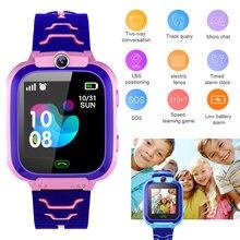 Детские Смарт часы с sim картой функция sos водонепроницаемые
