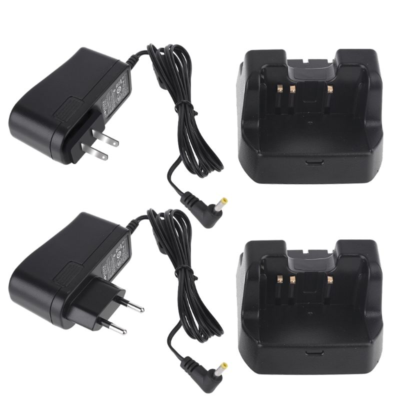 CD47 Smart Charger Fast Charging Base Holder Power Adapter For Yaesu/Vertex VX-160 VX-180 VX-210 VXA-200 VXA-220 FT-60R