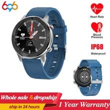 696 DT78 1.3inch Full Round Full Touch Screen Smart  Watch Band Pedometer Smartwatch Men Women Heart Rate Monitor Smart Bracelet