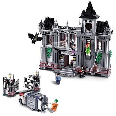 Marvel & DC Super-héros Joker Arkham asile ensemble de montage Batman films blocs de construction jouets