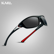 Men Sports Polarized Sunglasses KARL Luxury Brand Design UV Protection Coating Driving Women Goggles