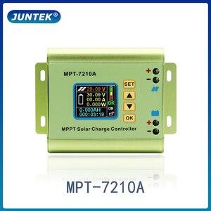 JUNTEK MPT-7210A mppt controller solar battery charger panel digital control boost voltage module charge 24V/36V/48V/60V/72V(China)
