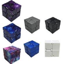 Мини бесконечный куб игрушки для снятия стресса тревога подходит для детей и взрослых Забавный куб декомпрессионные игрушки