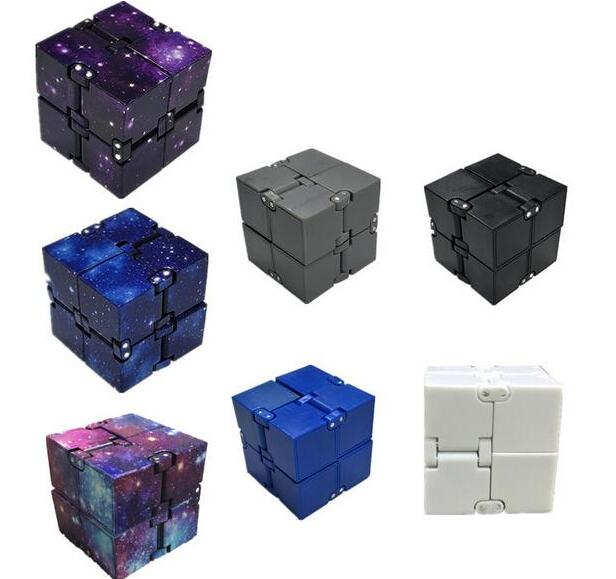 Infinity Cube Mini Toy Finger EDC Anxiety Stress Relief Cube Blocks Children Kids Funny Toys Best Gift Toys for Children(China)