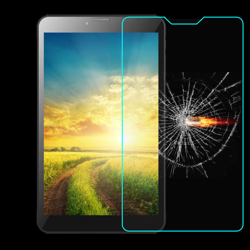 Universal Tempered Glass Film Screen Protector For VIVAX TPC-804 3G 8