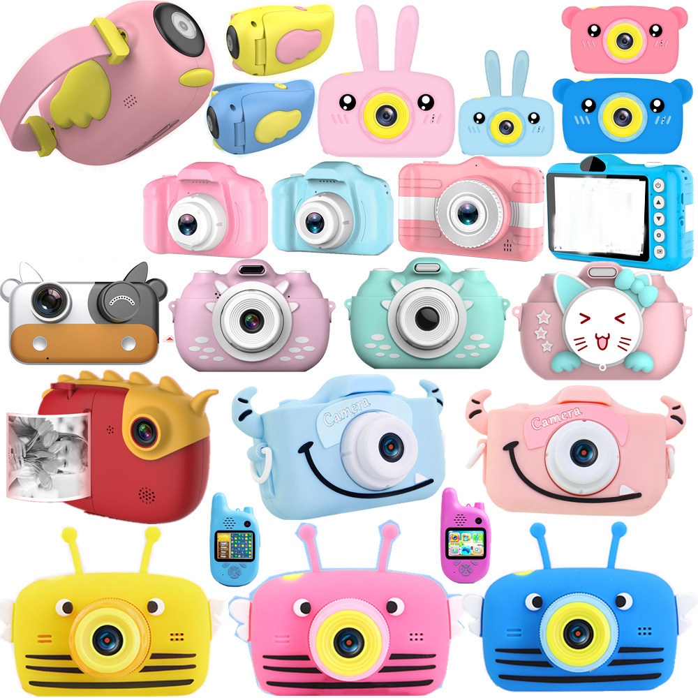 Child Digital Camera Digital Photocameras New Cloud HD Child Baby Gift Gift Children Camera Toys For Kids Hobby Toys Baby Gift