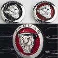 Леопардовый автомобильный Стайлинг покрытие передний Cente решетка эмблема значок наклейка Аксессуары для Jaguar XF XJ XJL Автомобильная наклейка ...