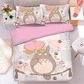 Popular Anime Totoro 3D Bedding Set Duvet Covers Pillowcases Comforter Bedding Sets Bedclothes Bed Linen Totoro bedding sets 01