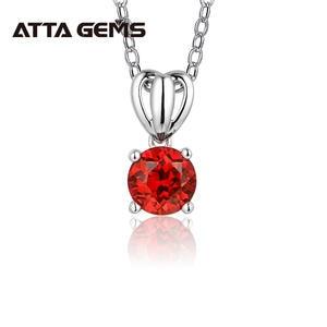 Superbe Rouge Ovale Jade Joy Dragon Pendentif Noir Onyx Perles Collier Sterling Zircon Cubique
