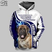"""Thunderbolt собака 3d одежды в стиле """"унисекс"""" с рисунком"""