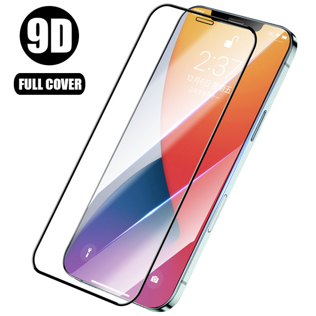 9D Full Cover Protective Glass for iPhone 7 8 Plus 6 6S SE 2020 Screen Protector On iPhone 11 12 Pro Max Mini X XS XR Glass 1