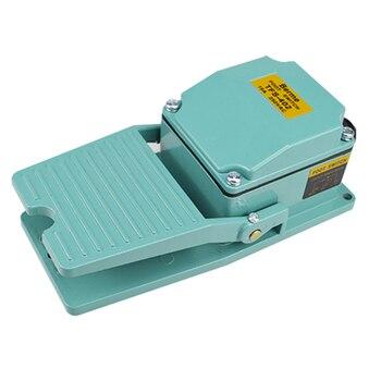 цена на 1 PCS AC 250V 15A 1NO 1NC Momentary Treadle Pedal Foot Switch w Cable Gland TFS-402 Green