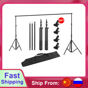 Backdrop-Stand-Kit Support Photo-Studio T-Shape for 152cm 200cm