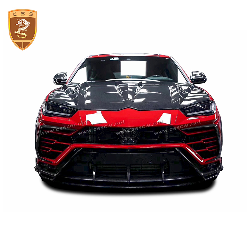Auto Modified Accessories For Lamborghini Urus Full Carbon Front Hood Topcar Style High Quality Carbon Fiber Engine Hood Covers Aliexpress